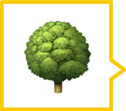 A tree emoji