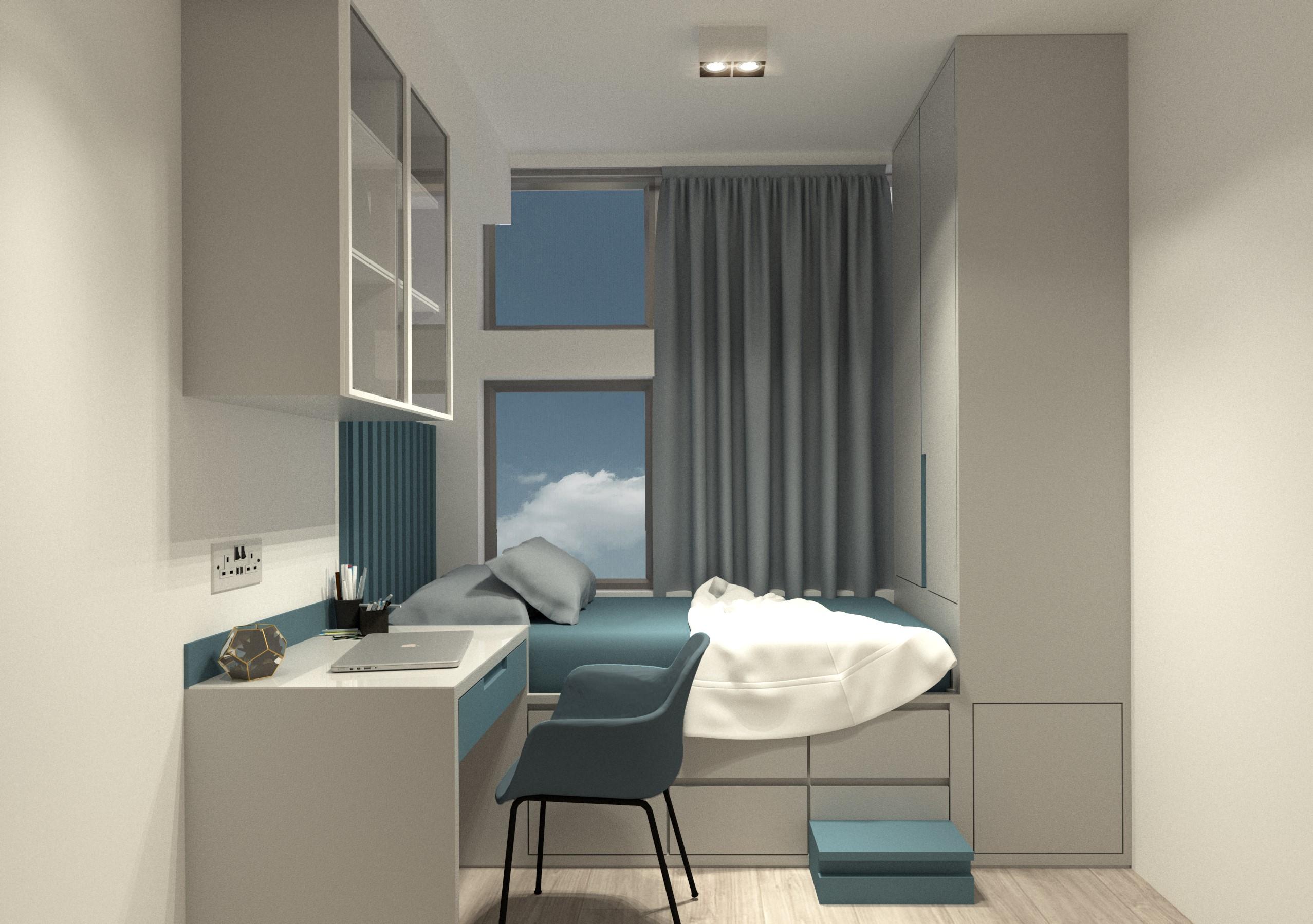Inch Interior Design Hong Kong Shek Mun Estate | Concept