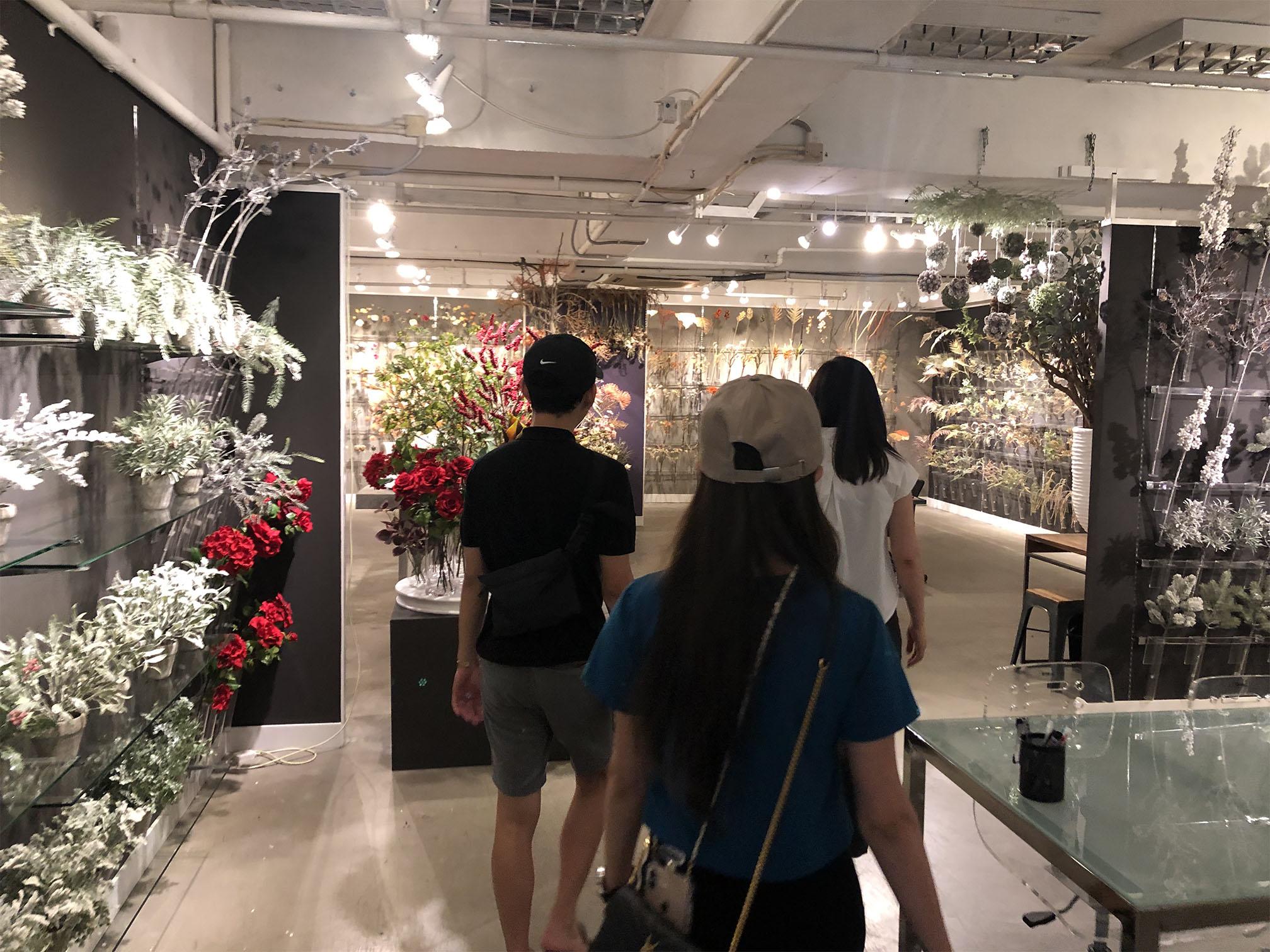 Inch Interior Design Flower Wonderland Picture Two