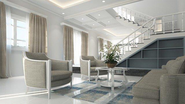 Inneneinrichtung von modernem Haus