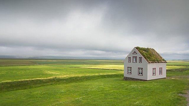 Haus in Alleinlage auf dem Land