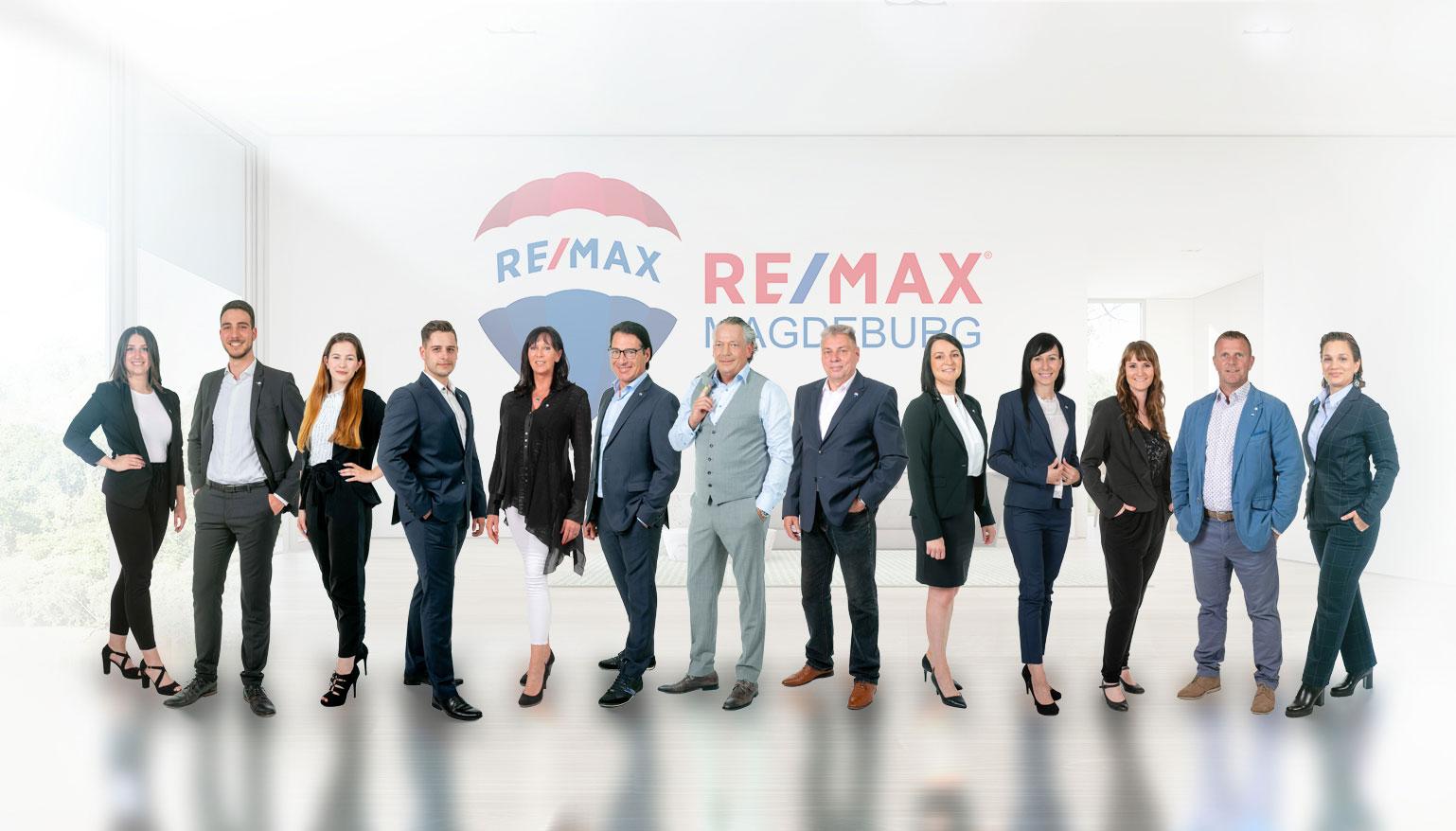 Team von RE/MAX Magdeburg