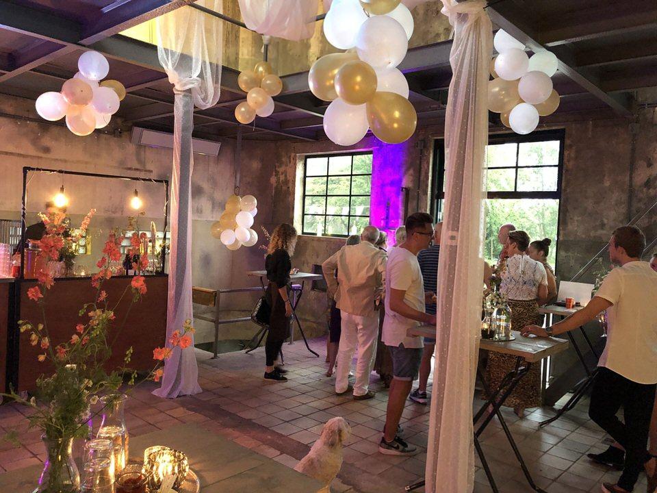 Verjaardagsfeest verzorgd met decoratie