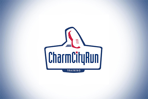 charm city run logo design