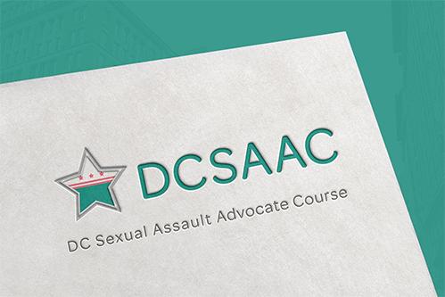 dcsaac logo design mockup
