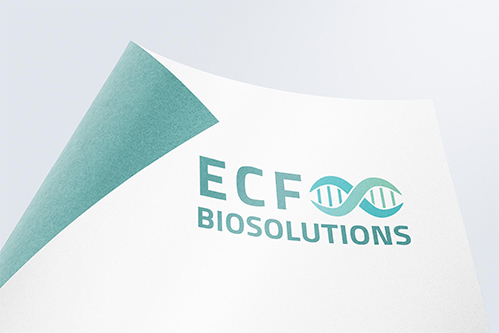 logo mockup of ecf bio solutions