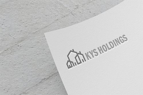 logo mockup of kys holdings