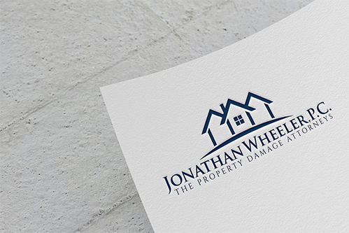 j wheeler law logo design