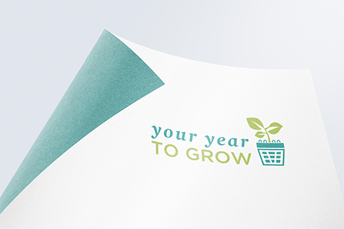 nais your year to grow logo design