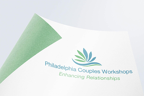 philly couples workshop logo design