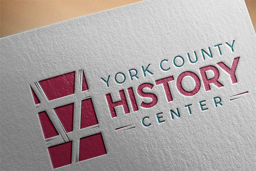 york county history center logo design