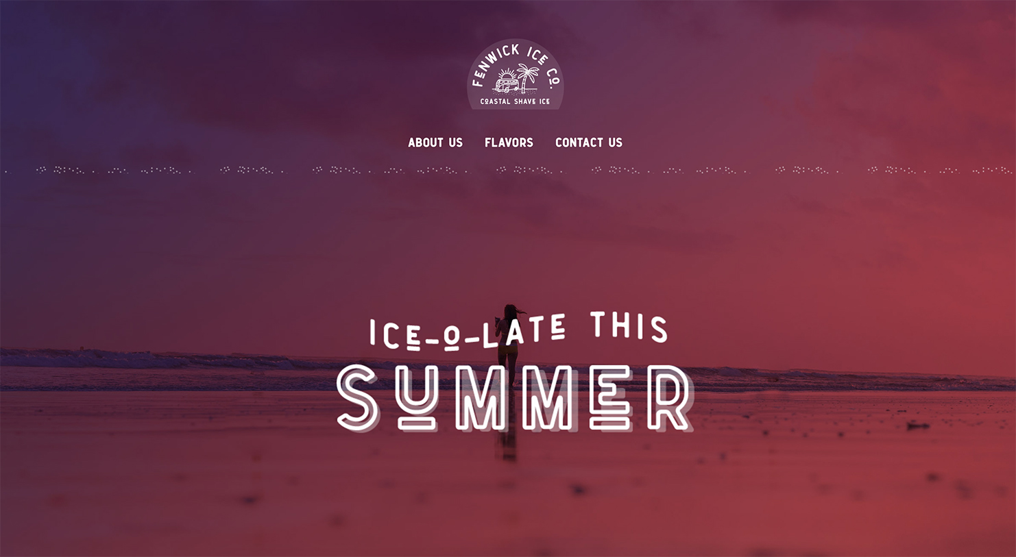 ice-o-late this summer homepage hero