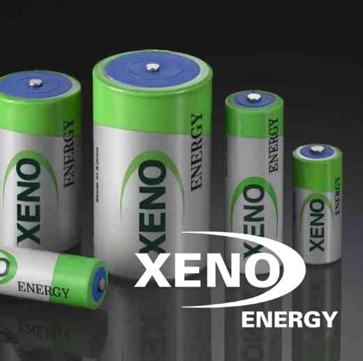 2 - XENO Energy Lithium Primary Cells (Li-SOCl2)