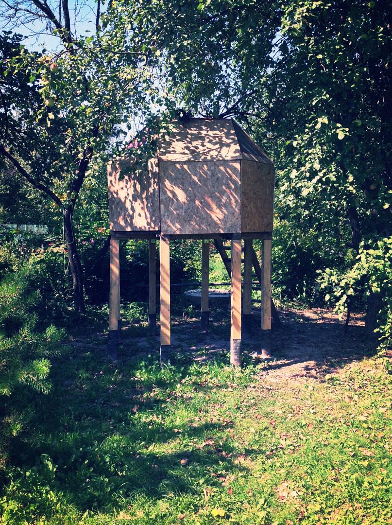 Child treehouse