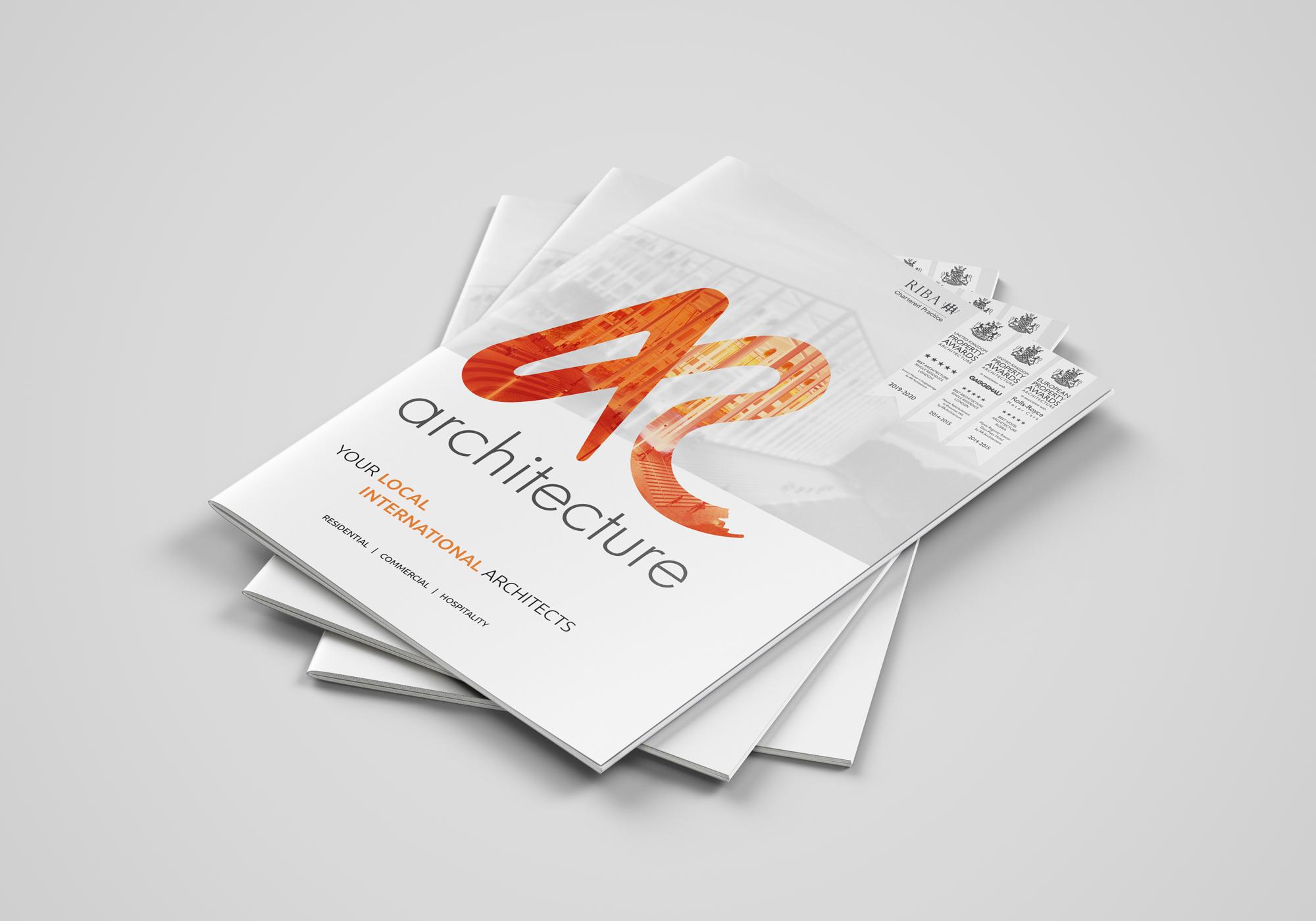 AR Architecture brochure