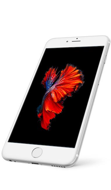 Perspektivní záběr na iPhone 6 / 6 Plus