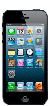 iPhone 5/5C - Přední strana telefonu