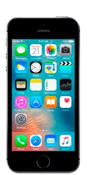 iPhone SE  - Přední strana telefonu