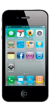 iPhone 4 / 4C - Přední strana telefonu