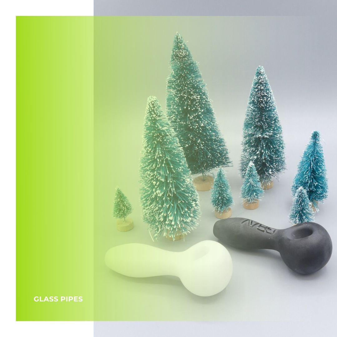 GRAV® Frosted Glass Spoon Hand Pipes