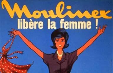Moulinex libère la femme année 50 pub sexiste