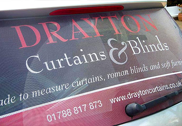One Way Vision Glass Signs