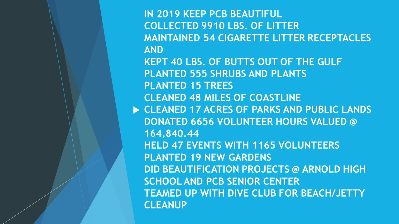 Keep PCB Beautiful stats