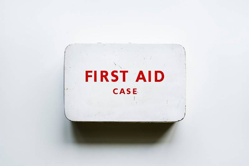 How Much Money Should I Have Saved? First aid kit
