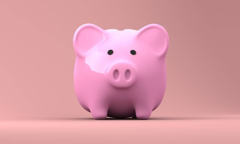What is a fiduciary: Pink piggy bank