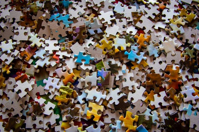 What Is an Annuity: Pile of puzzle pieces