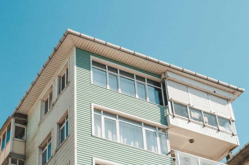 What Is an Annuity: Exterior of top two stories of apartment building