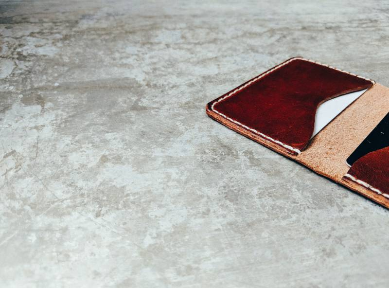 How Many Credit Cards Should I Have: Leather wallet