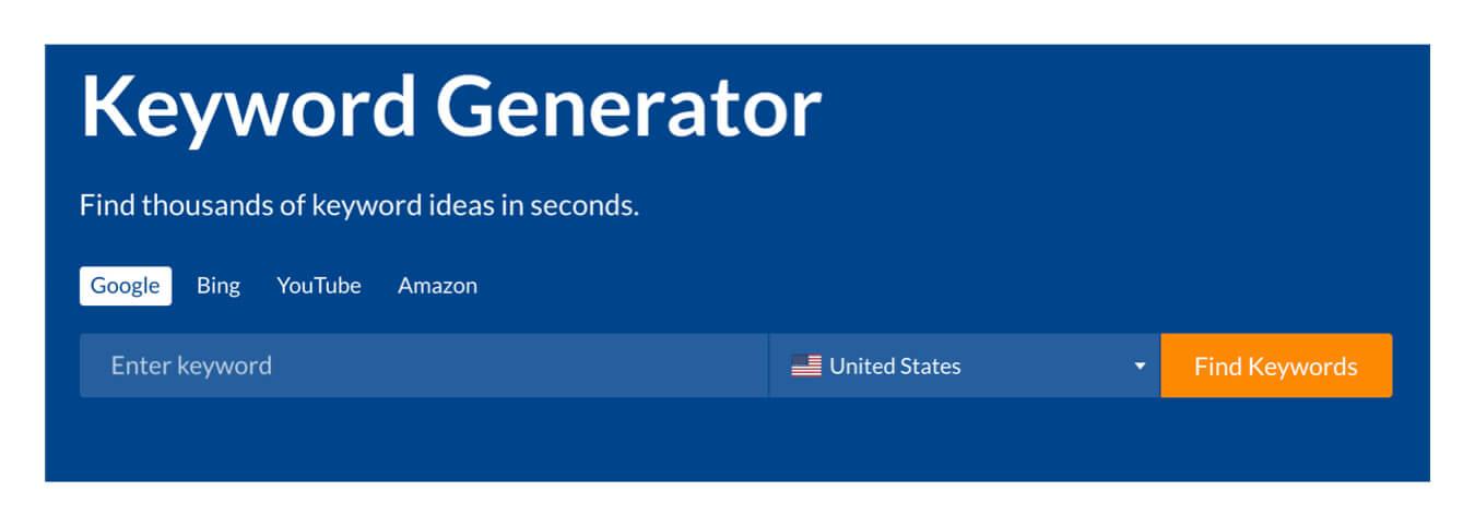 Ahrefs keyword generator tool