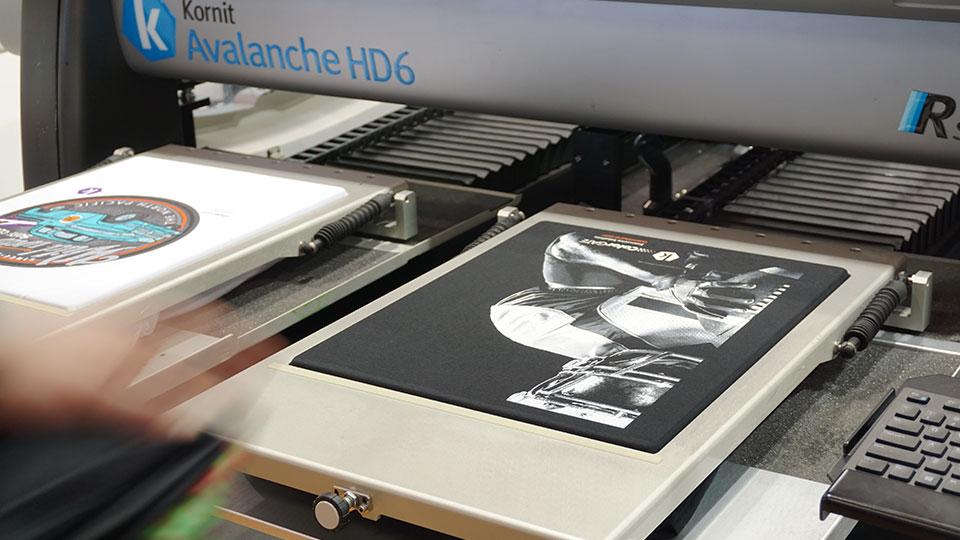 DTG-Druckmaschine von Kornit