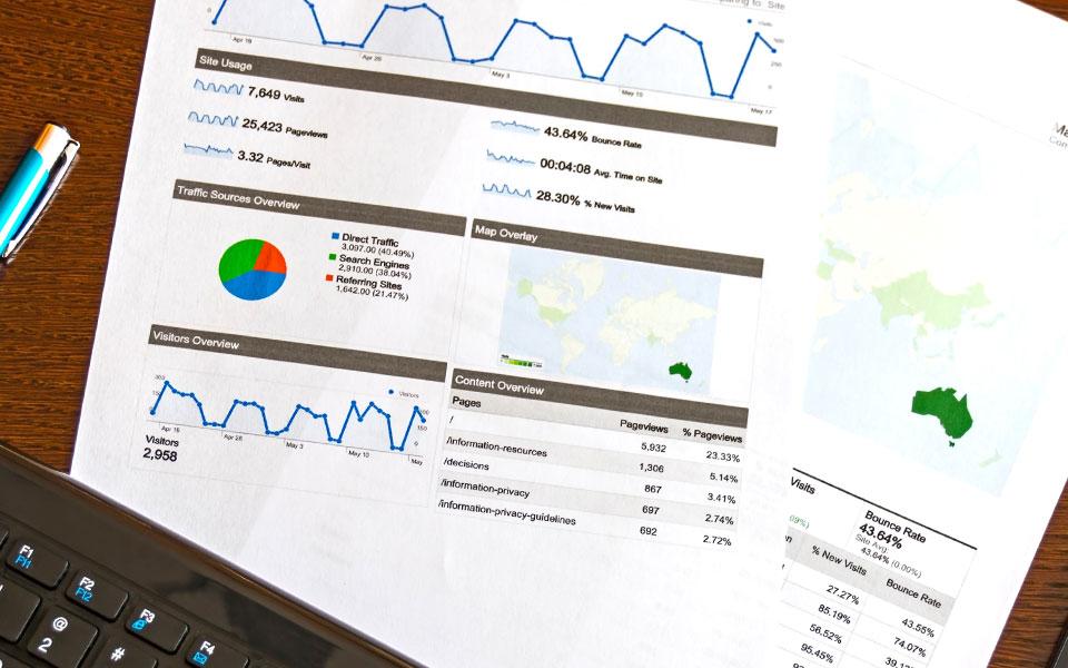 Google-Analytics-Auswertung mit Umsatzzahlen