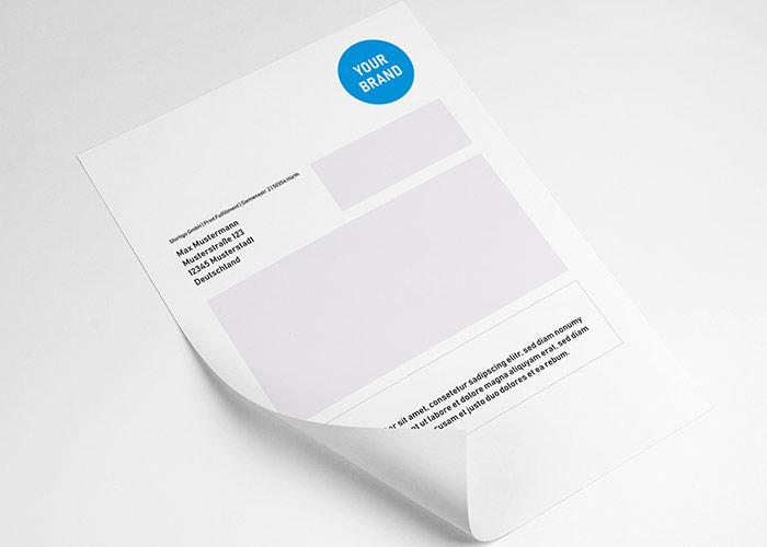 Lieferschein mit Your Brand Logo