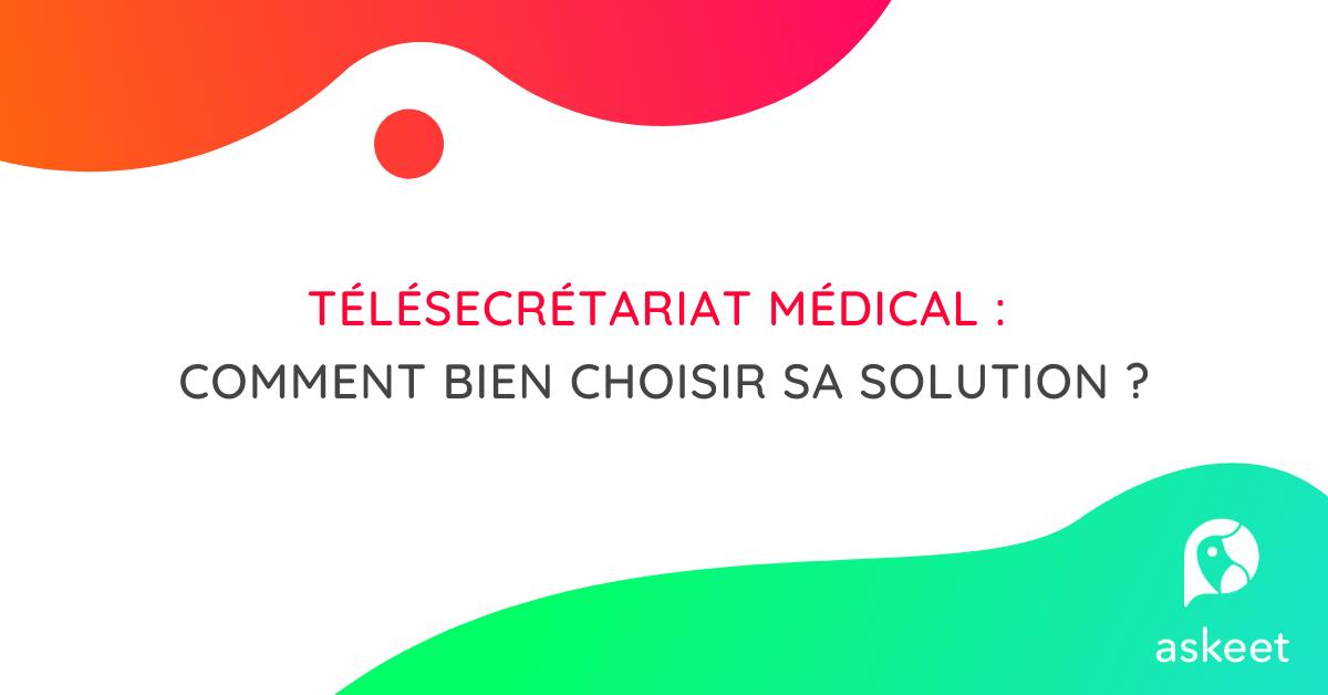 Télésecrétariat médical : bien choisir sa solution !_background
