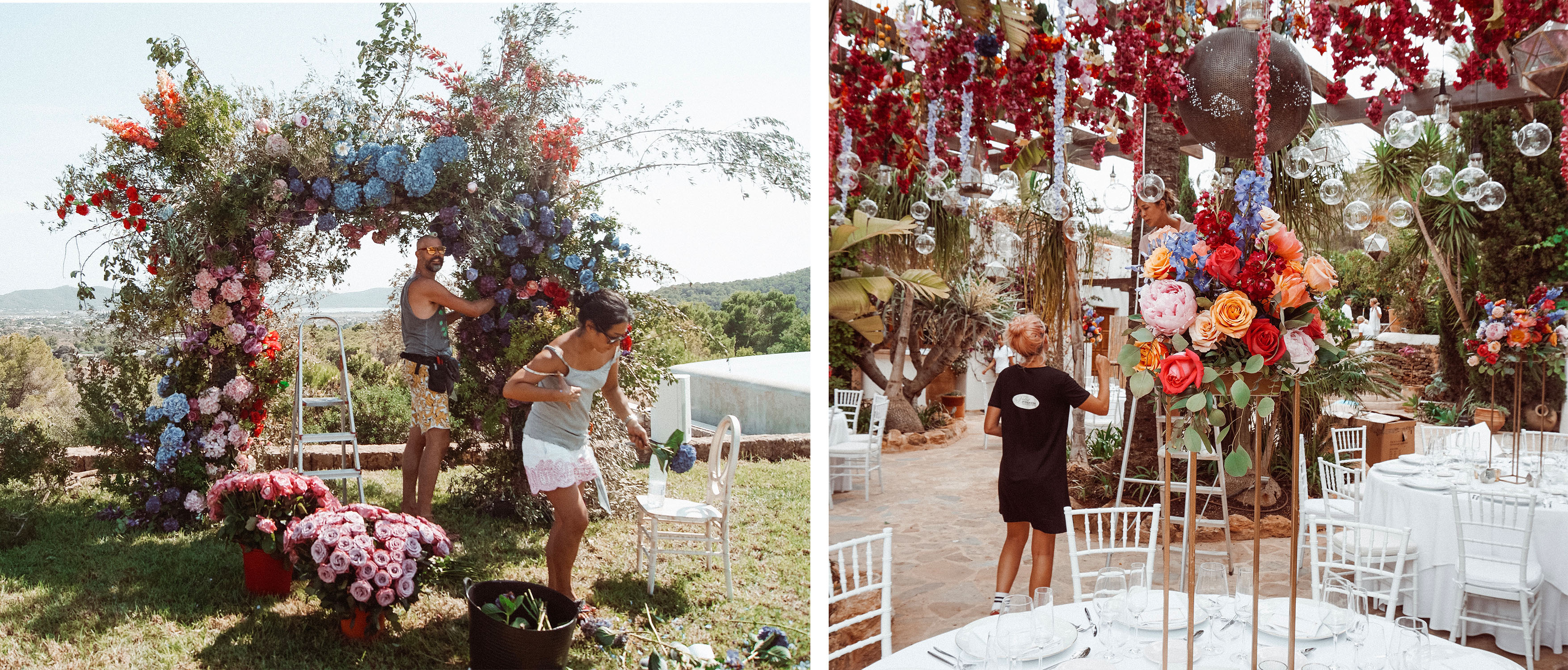 experimental beach London wedding
