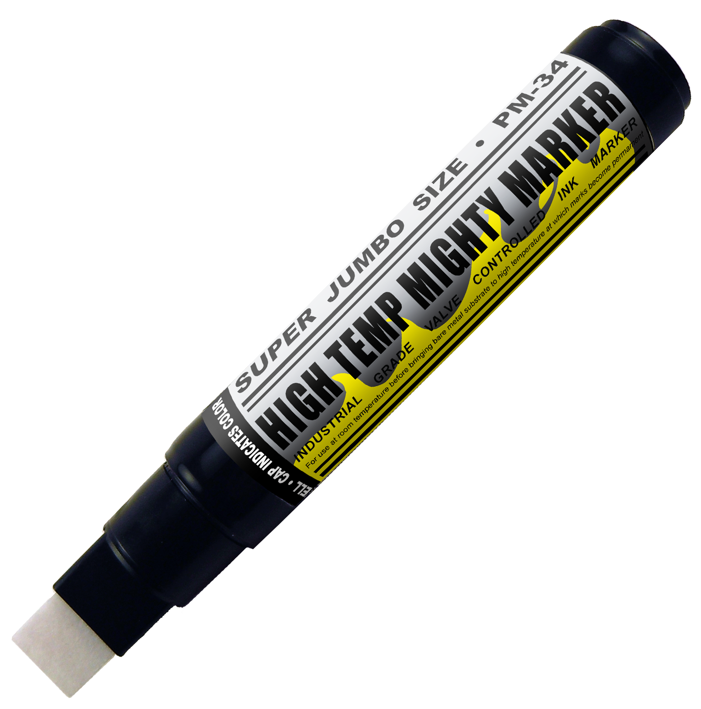 super jumbo high temperature paint marker pm34
