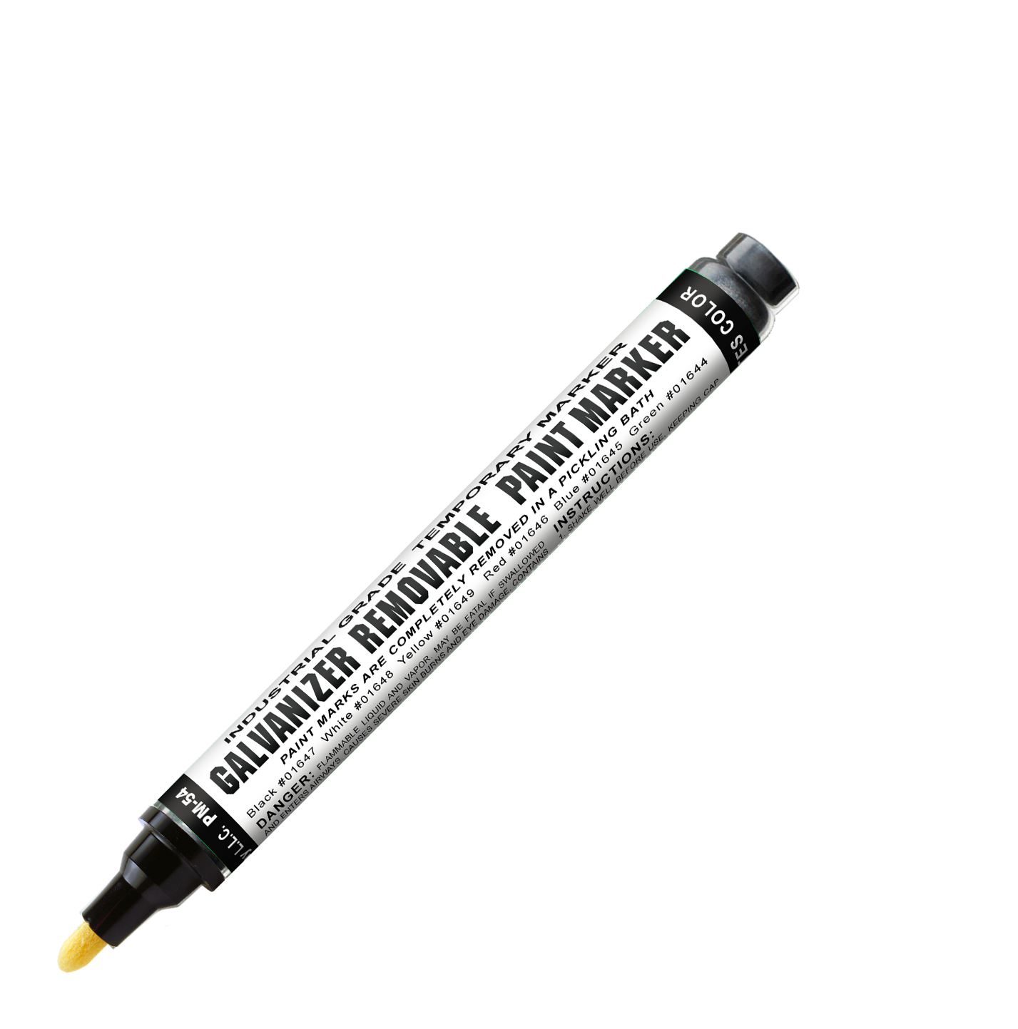 galvanizer removable paint marker