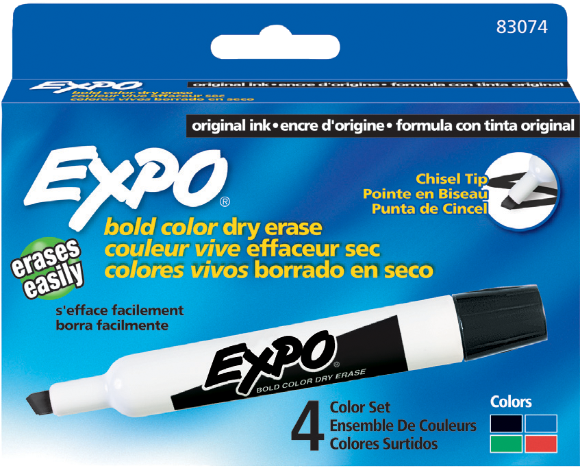 expo chisel 4 pack