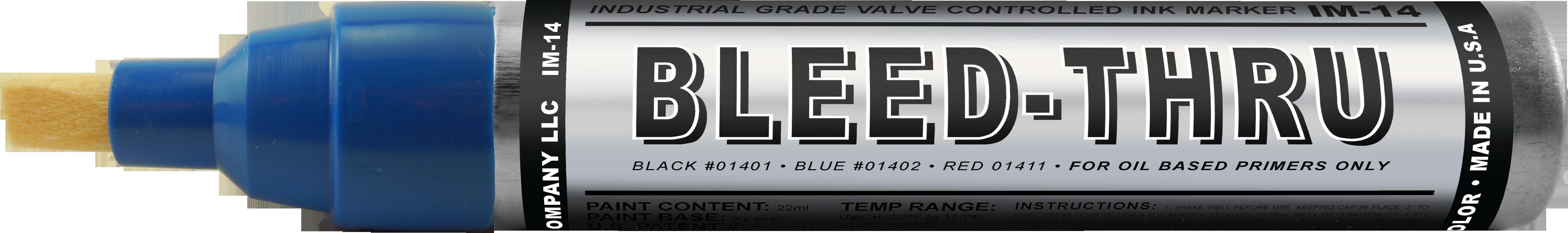 Bleed-Thru Markers
