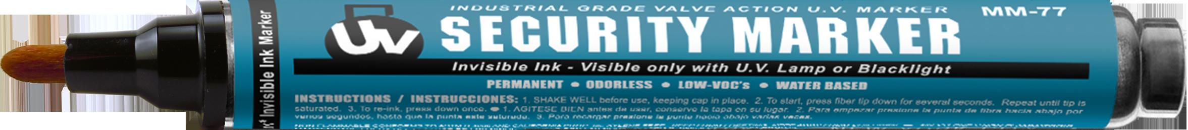 UV Security Blacklight Pen
