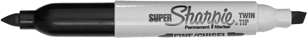 Sharpie Super Twin-Tip Permanent Ink Marker