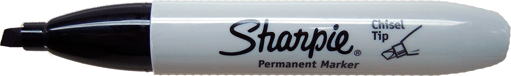Sharpie Chisel Tip Permanent Ink Marker