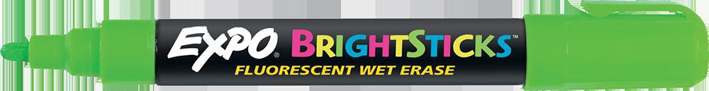 Expo Brightsticks Wet-Erase Fluorescent Markers