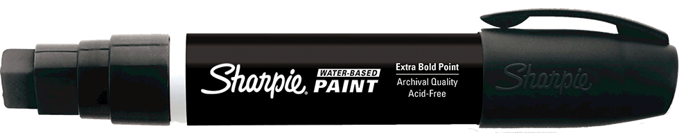 Sharpie Water-Based Paint Broad Tip