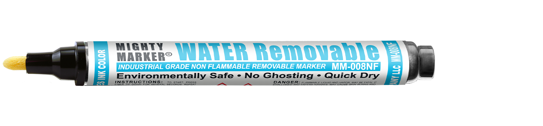 Mighty Marker Water Removable Non-Flammable