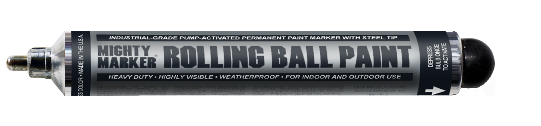 Mighty Marker Rolling Ball Paint