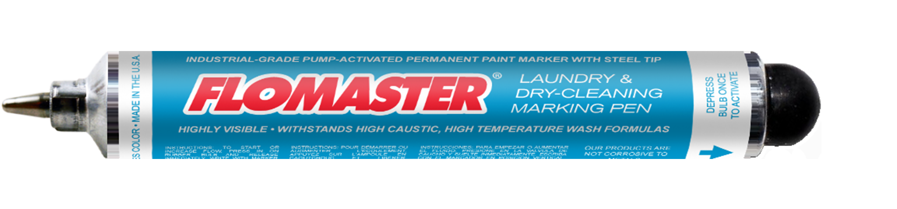 Flomaster Permanent Laundry & Dry-Cleaning Pen
